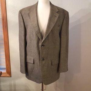 Oscar De Le Renta men's wool suit jacket